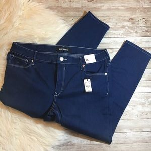 Express Mid Rise Jeans